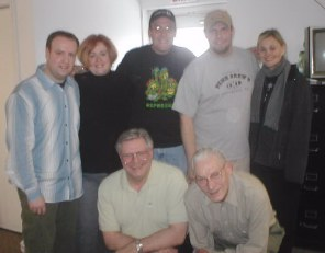 Jerry, Pam, Marko, Mike, Allison, Joe Jr. & Joe Sr.