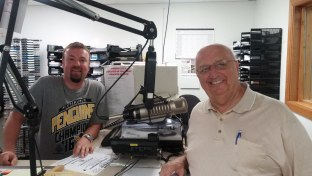 Jerry with guest co-host Bill Seles